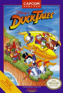 Disney's DuckTales released on NES