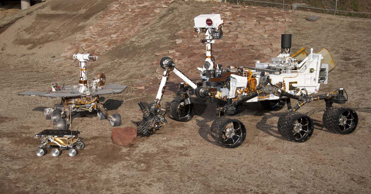 Opportunity rover lands on surface of Mars