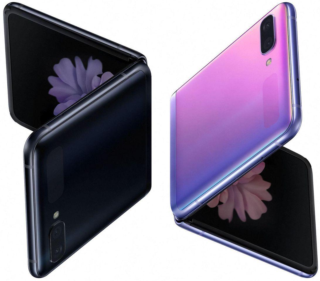 Samsung Galaxy Z Flip caught on film again