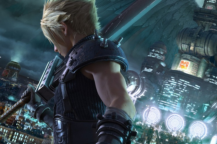 The intro to Final Fantasy VII Remake released