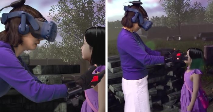 Mother 'reunites' with dead daughter using virtual reality technology