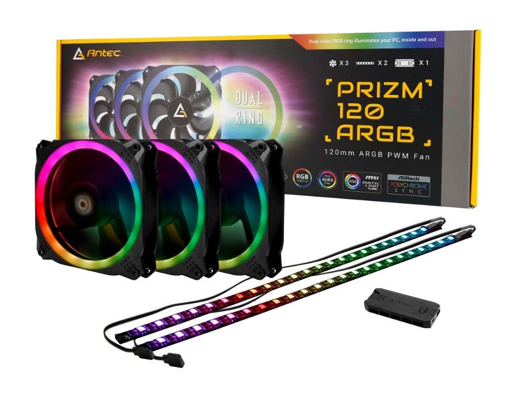 Antec Prizm 120 ARGB 3+2+C Review: Unicorn vomit!