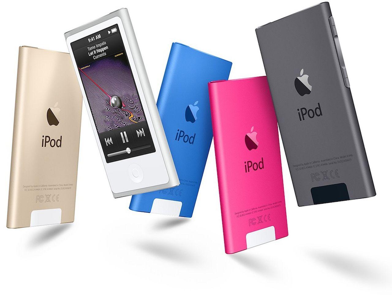 "Apple counts the latest iPod Nano model as ""vintage"""