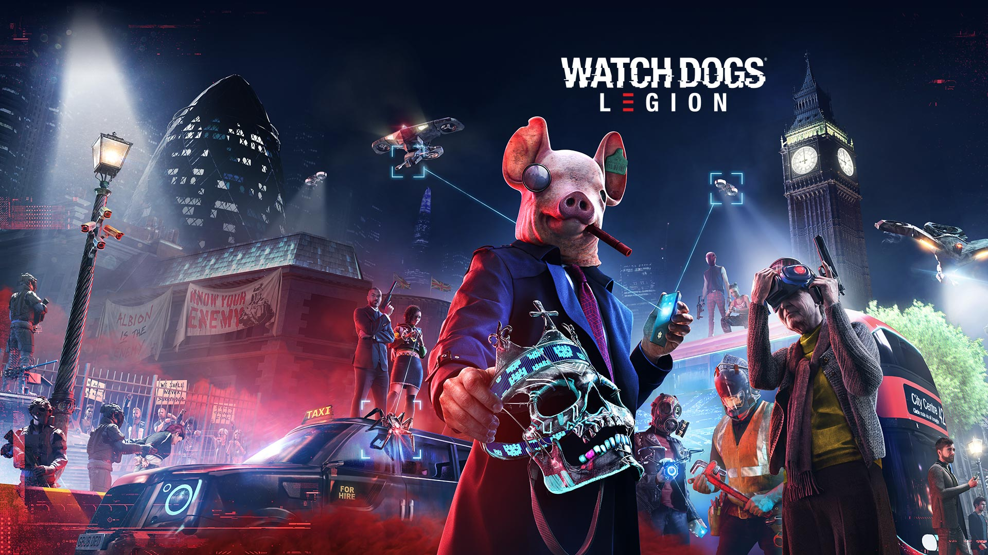 Watch Dogs: Legion (PS5) Review: Beautiful futuristic London