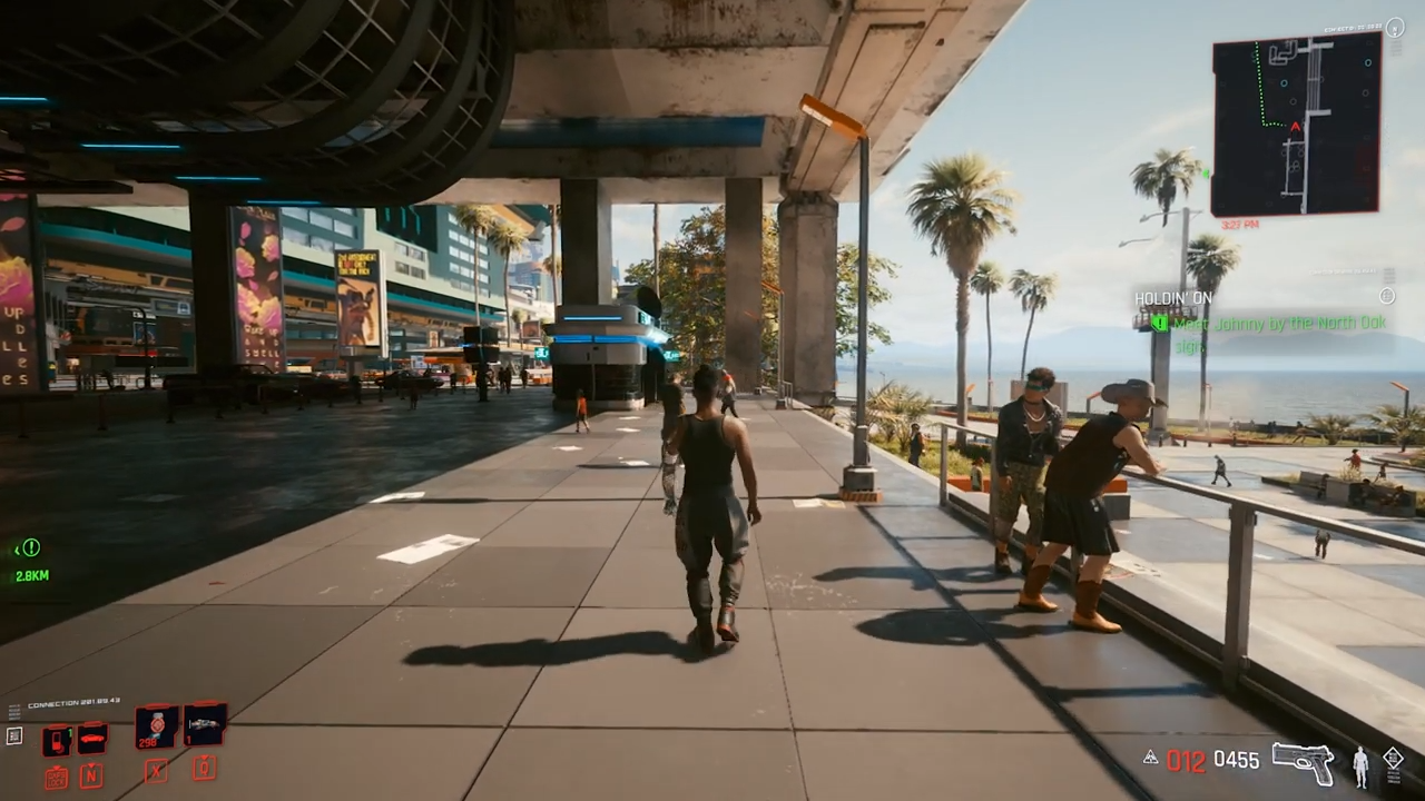 Modders allows you to play Cyberpunk 2077 in third-person
