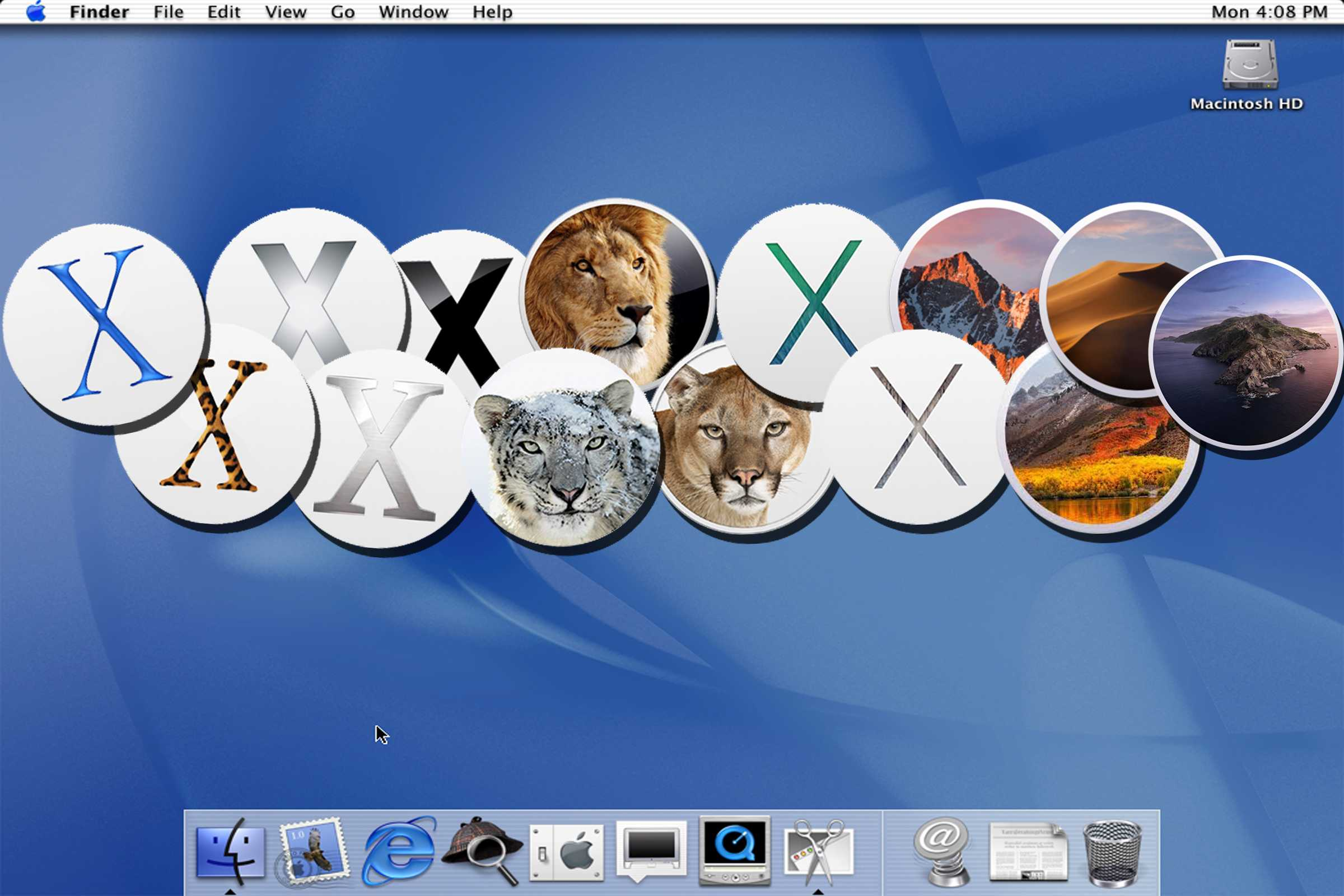 20 years ago Apple released Mac OS X.