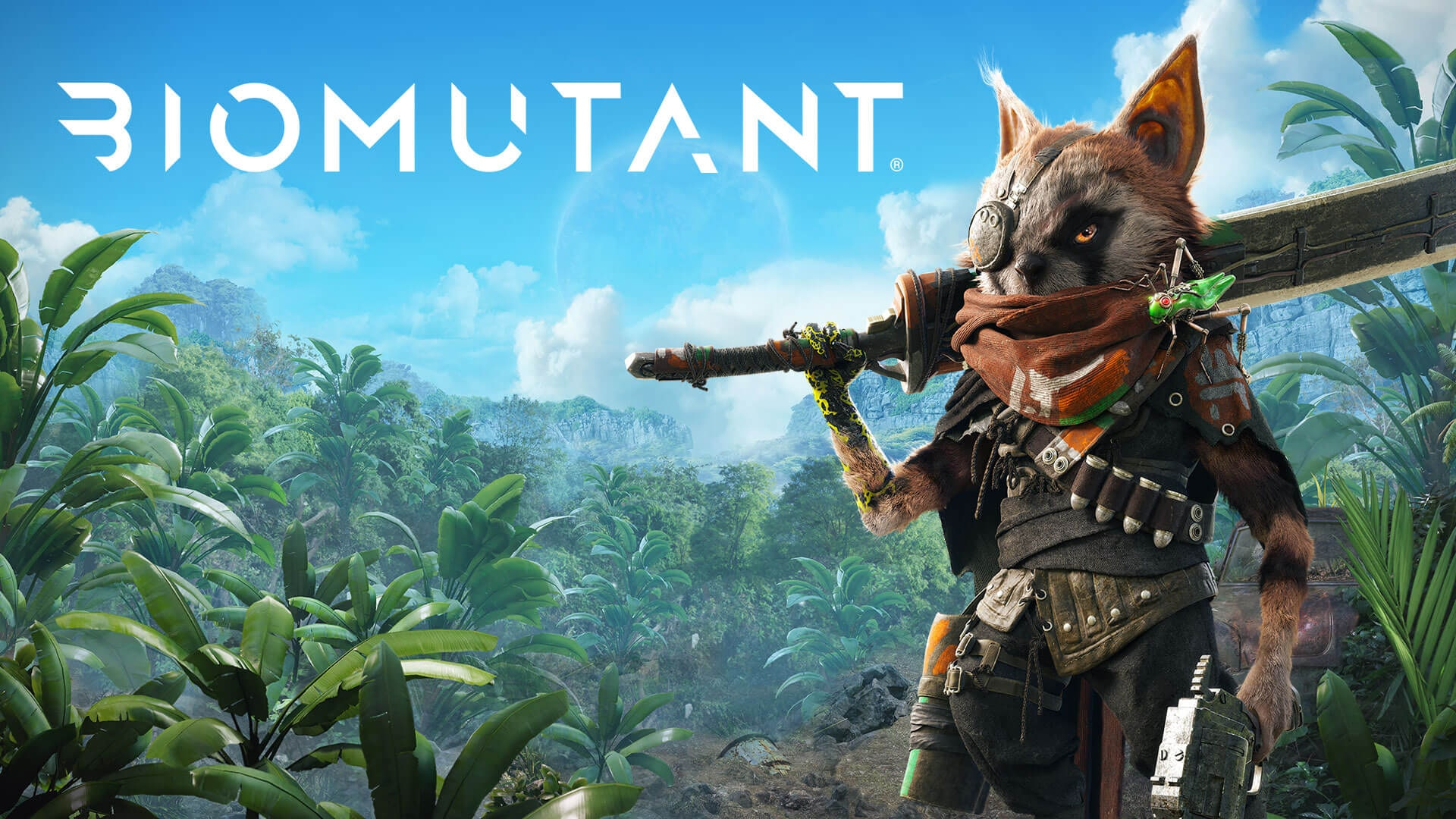 A look at the open world in Biomutant