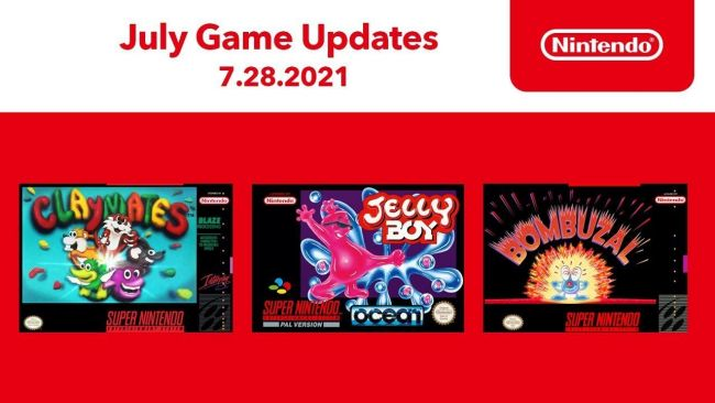 Three new titles are coming to the SNES Nintendo Switch Online