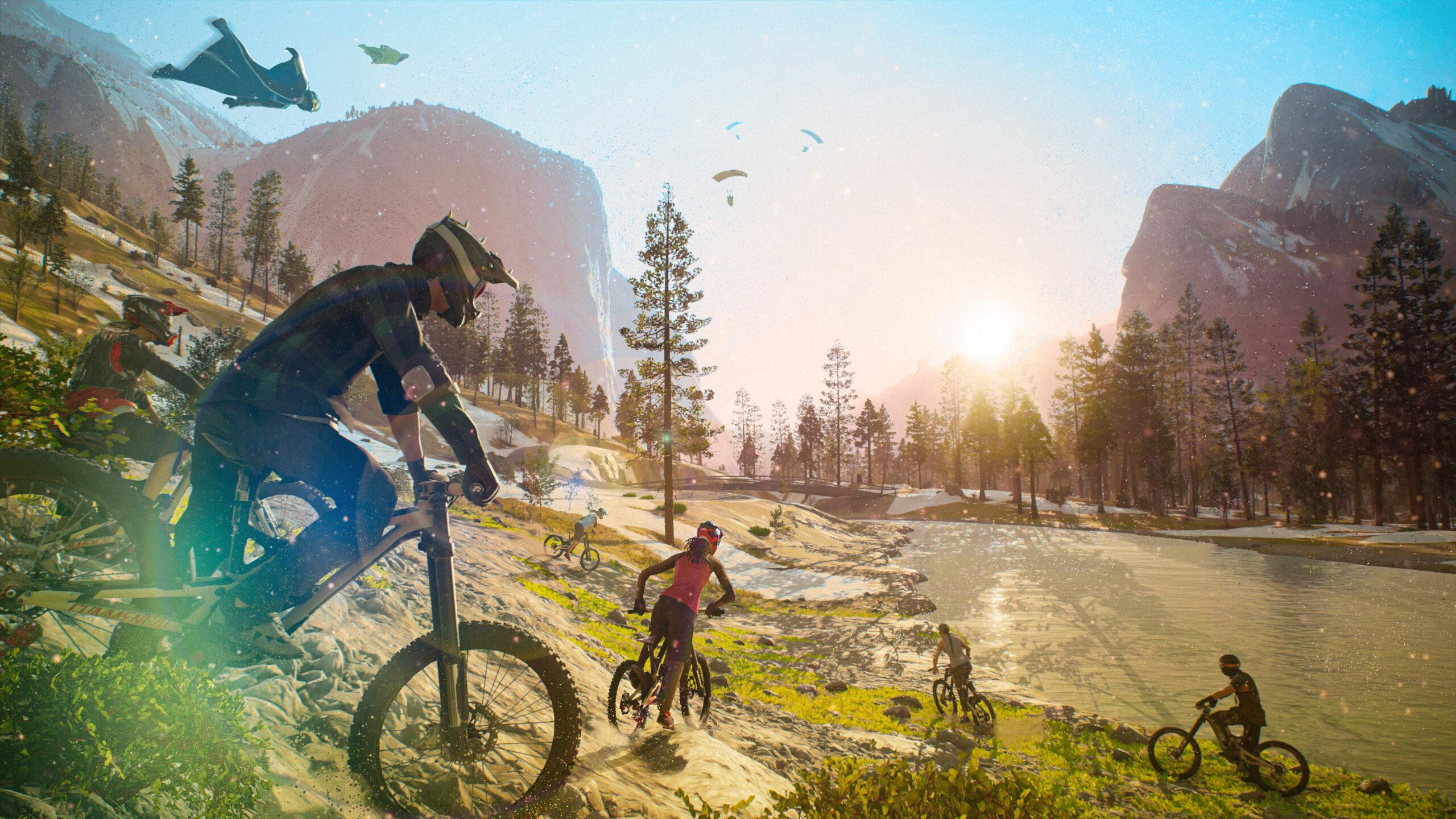 Ubisoft postpones the premiere of Riders Republic. Again.