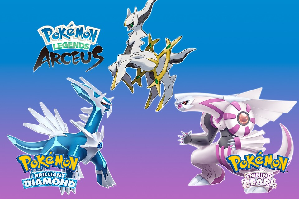 Nintendo unveils news from Pokémon Arceus, Brilliant Diamond and Shining Pearl