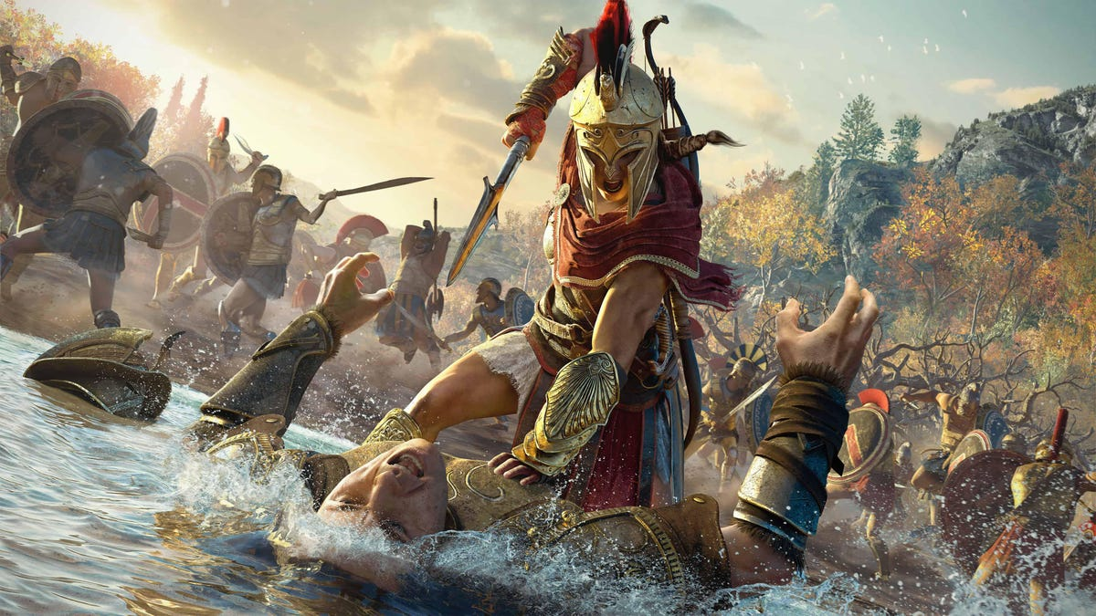 Assassin's Creed Odyssey gets next gen patch