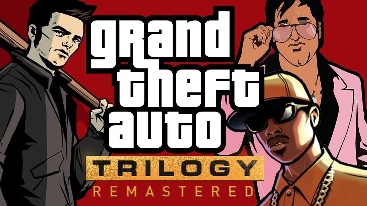 Rockstar is working on remasters of GTA III, Vice City & San Andreas