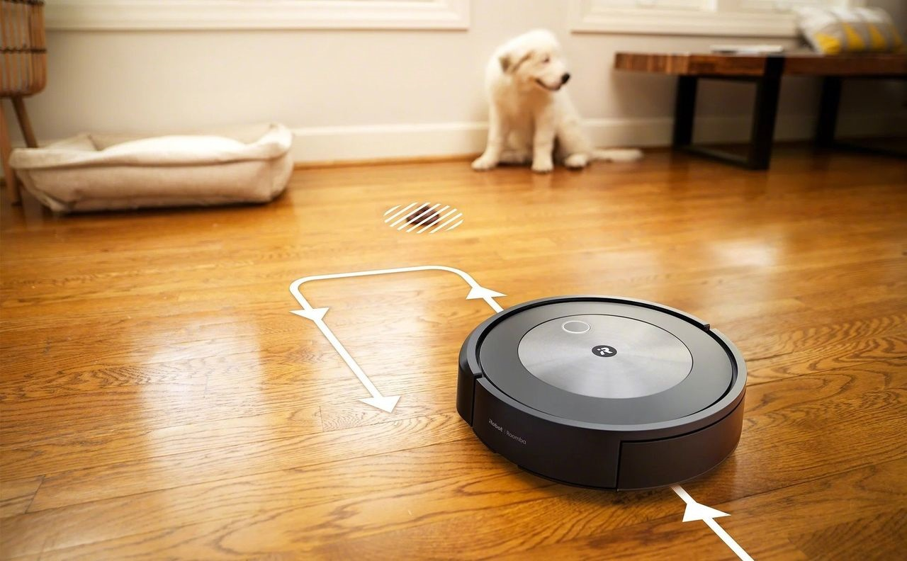 iRobot's new Roomba j7+ can avoid dog poop